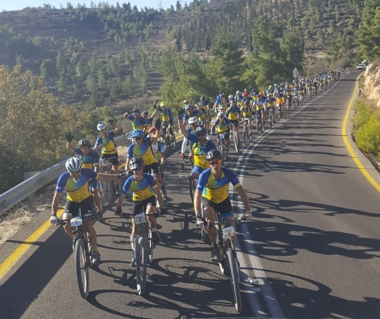 2019 Alyn Wheels Of Love Israel Charity Bike Event